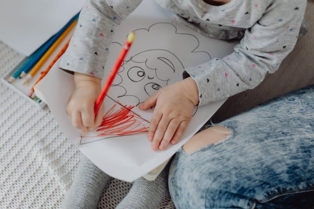 kreativt barn